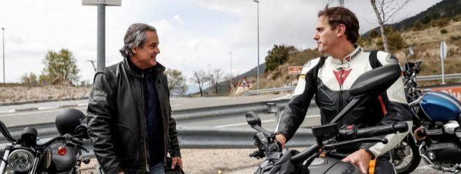 En la imagen, el presidente de Ciudadanos, Albert Rivera (d), junto a...