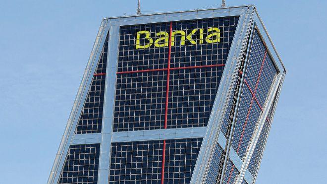 Sede corporativa de Bankia, en Madrid.