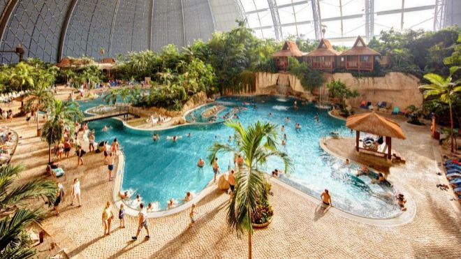Centro acuático de Parques Reunidos en Alemania.
