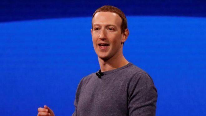 El fundador de Facebook  Mark Zuckerberg.