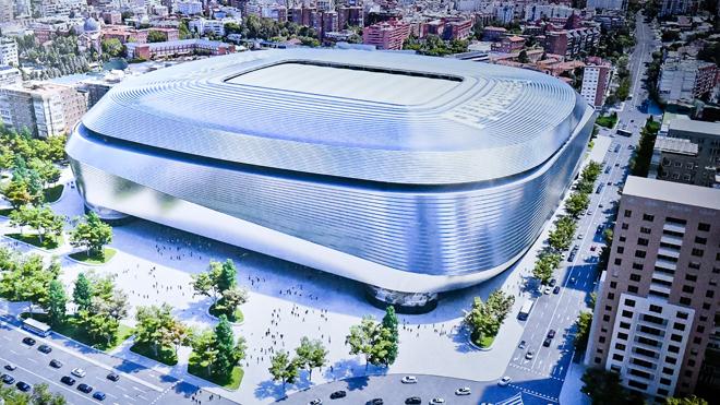 El Madrid adjudica el nuevo Bernabéu a FCC