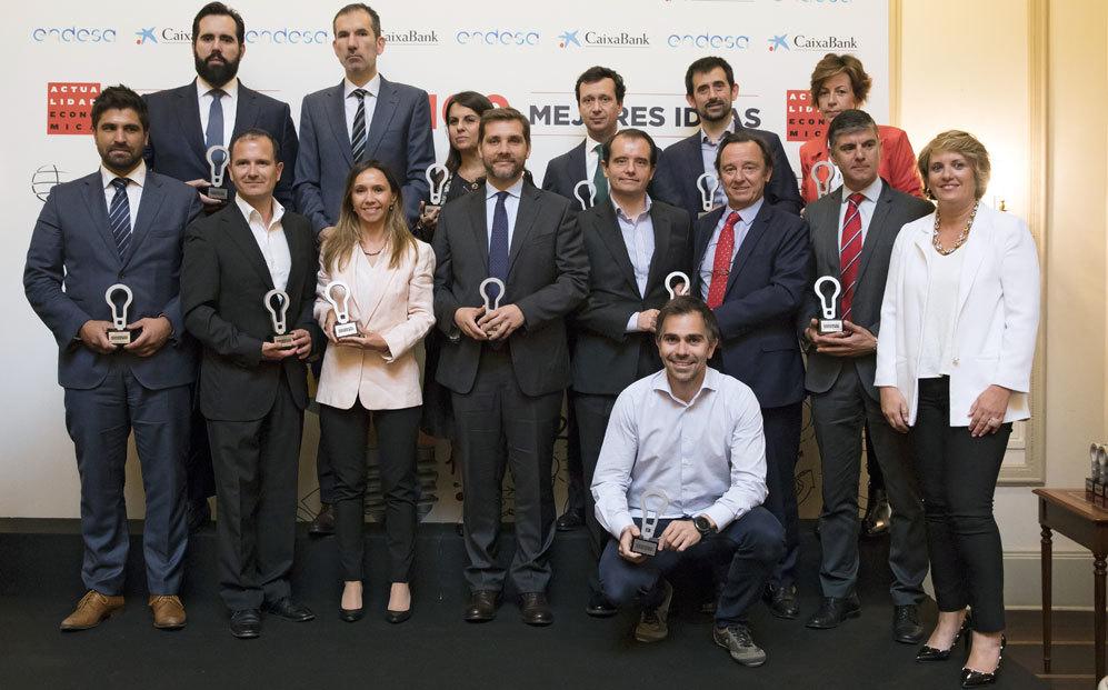 TRANSFORMACIÓN DIGITAL  Entrega los premios Marta Sánchez, jefa de...