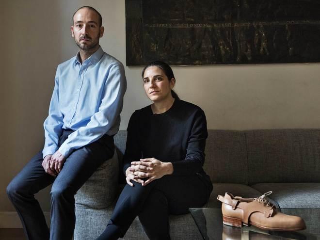 fe1ab8ff Ignacio Aldanondo y Catuxa Fernández, ambos 40 años, en su estudio de  Barcelona.