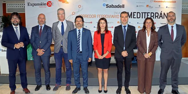 Adif cifra en un 60% la inversión ya ejecutada del Corredor Mediterráneo