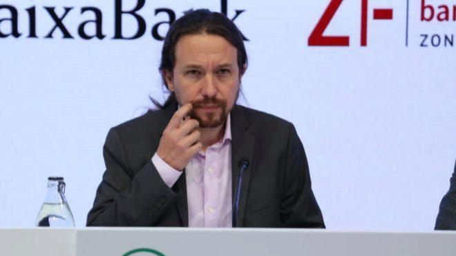 Pablo Iglesias, líder de Unidas Podemos .