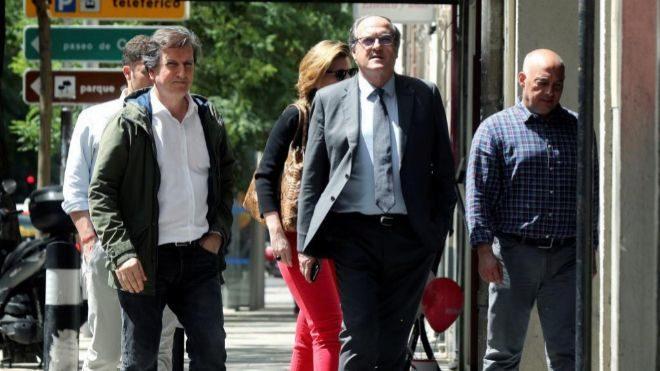 Ángel Gabilondo, el pasado 27 de mayo a su llegada a la reunión de la Ejecutiva Federal del PSOE.