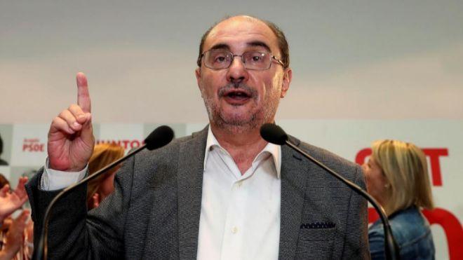 Javier Lambán, en una imagen de archivo.