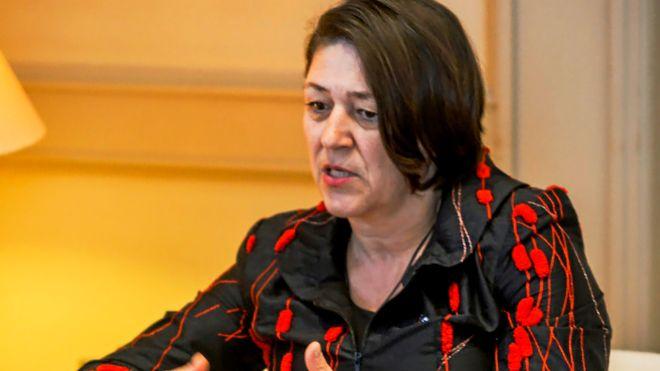 Violeta Bulc, comisaria europea de Transporte.
