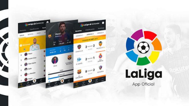 LaLiga, multada con 250.000 euros por falta de transparencia en su app