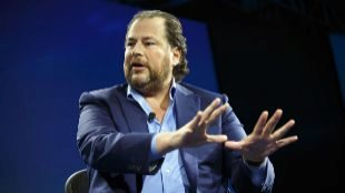 Marc Benioff, cofundador y CEO de Salesforce.
