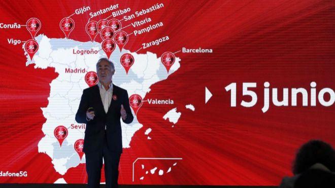 El presidente de Vodafone España Antonio Coimbra.
