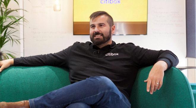 David Bernabéu, fundador y consejero delegado de Citibox.