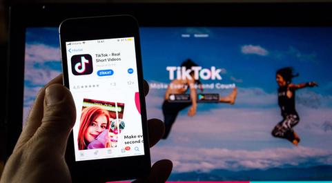 La aplicación TikTok tiene una enorme tracción entre los...