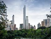 En este rascacielos de la calle 57, actualmente en construcción y que...