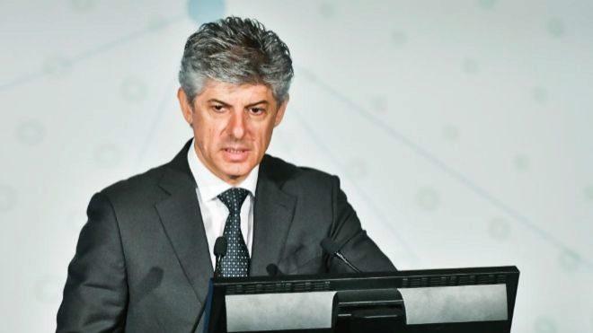 Marco Patuano, durante la última junta de accionistas de Cellnex.