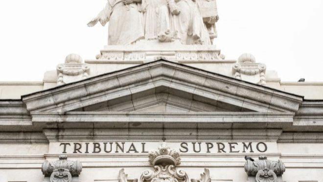 Sede del Tribunal Supremo, en Madrid.