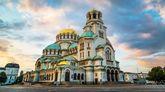 Catedral de Alejandro Nevski en Sofía, la capital de Bulgaria.