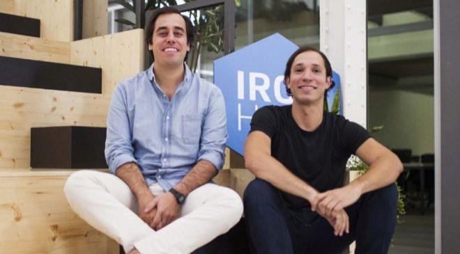 Los fundadores de Ironhack: Gonzalo Manrique y Ariel Quiñones.