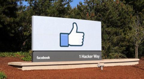 Sede de Facebook.