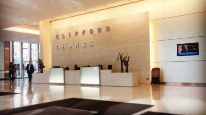 Clifford Chance anuncia un beneficio de 726 millones  de euros