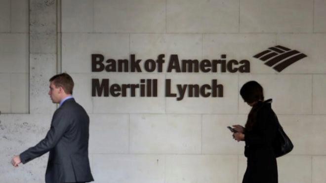 Edificio de Bank of America Merrill Lynch en Londres.