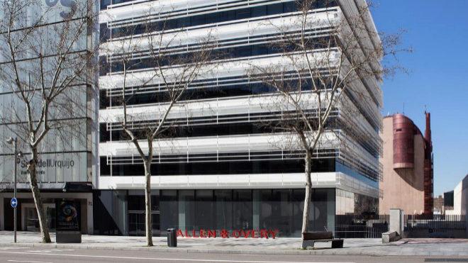 Minimalista y conceptual: así es  la sede española de Allen & Overy
