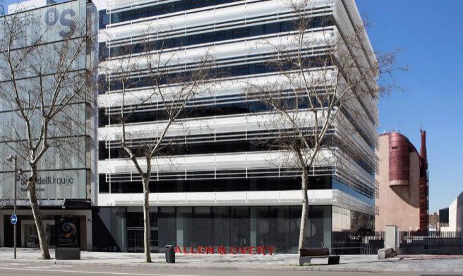 La sede de Allen & Overy está en pleno corazón financiero de la...