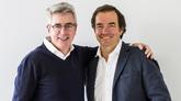 Los fundadores y socios directores de Kibo Ventures, Aquilino Peña y...