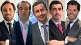 De izquierda a derecha: Francisco Rodríguez, director de análisis de...