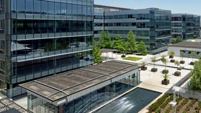 Parque empresarial Las Mercedes, en Madrid.