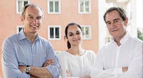 Nico Goulet, Rocío Pillado y Alberto Gómez, socios de Adara...