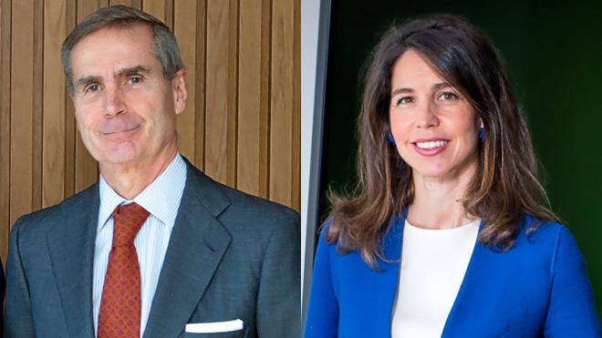 Santiago Eguidazu, presidente de Alantra, y Ana Segurado, 'managing...