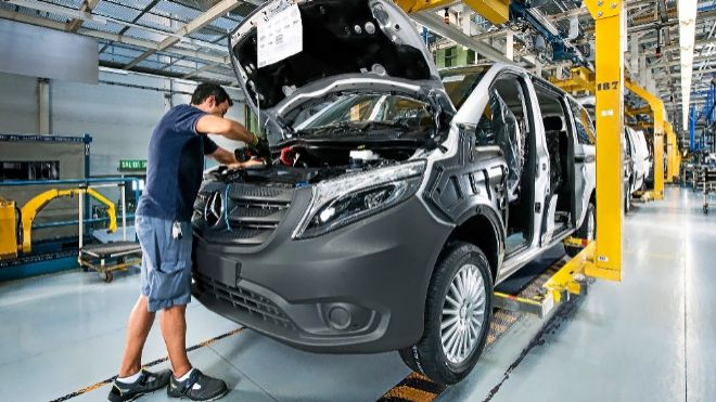 Las instalaciones alavesas de Mercedes dan trabajo a 5.400 personas.