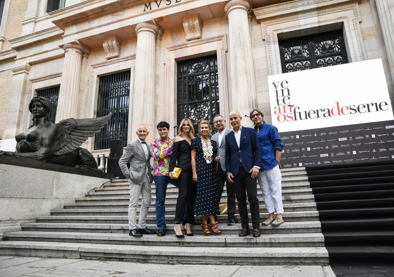 De izq. a dcha.: Modesto Lomba, Palomo Spain, Teresa Baca, Patricia...