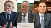 De izquierda a derecha, Ginés Clemente, presidente de Aciturri;Josep...