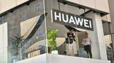 Tienda de Huawei en Madrid.