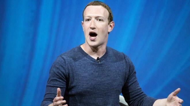 El fundador de Facebook, Mark Zuckerberg.