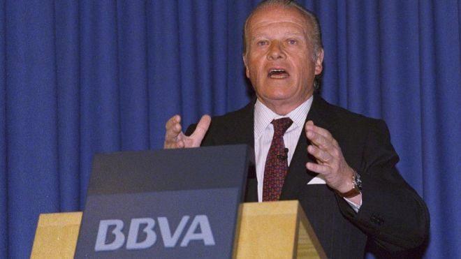 Emilio Ybarra, expresidente de BBVA.