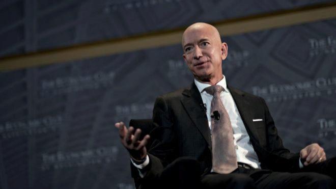 Jeff Bezos, CEO y fundador de Amazon.