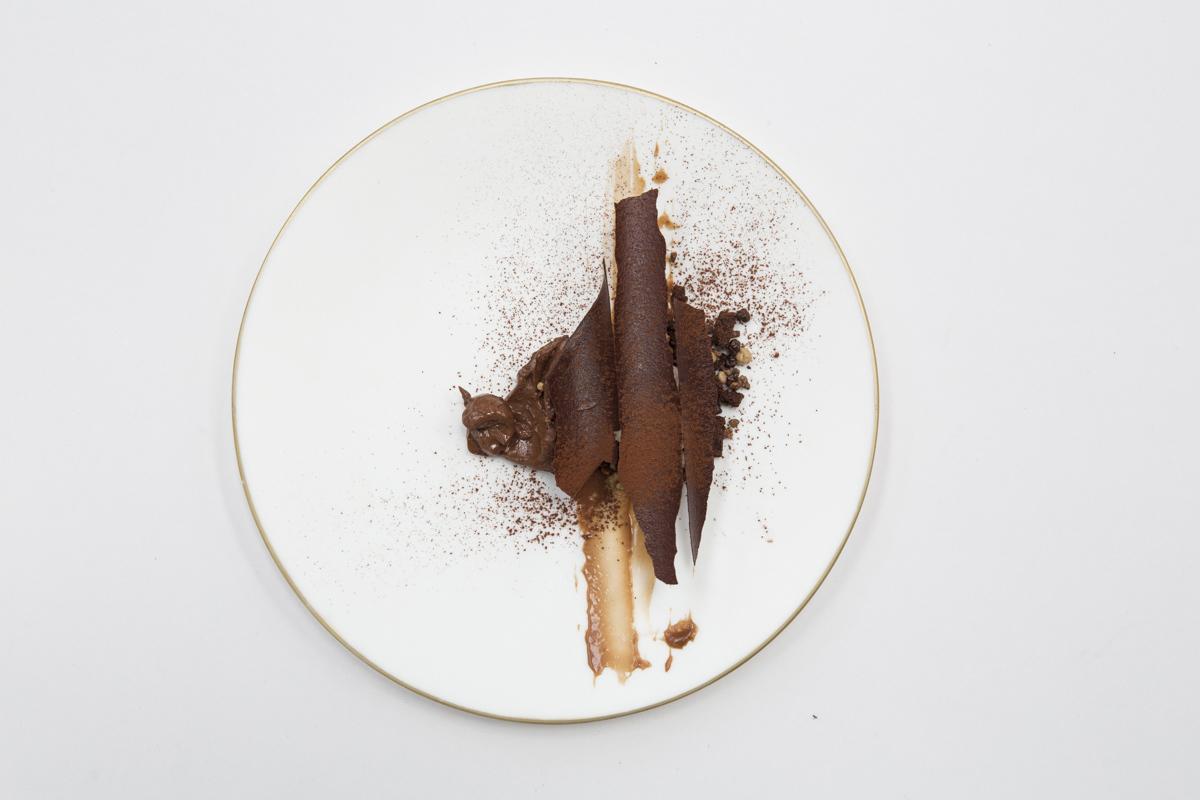Postre Era del cacao.