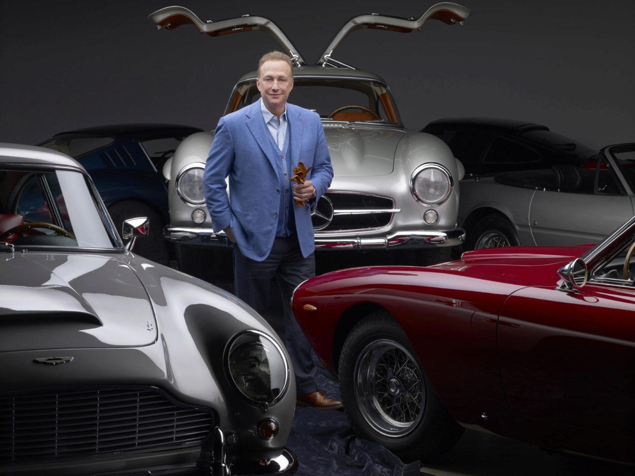 Miles Nadal, empresario y coleccionista de coches canadiense, se ha...