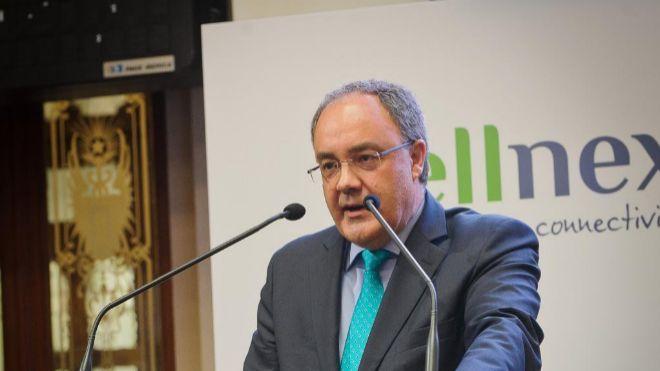 Tobías Martínez, consejero delegado de Cellnex.