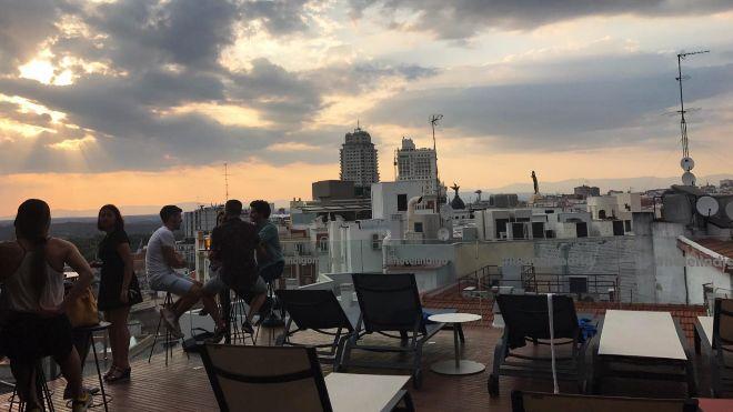 Las Mejores Vistas Del Madrid Gatuno Están En La Terraza