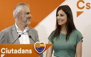 La portavoz de Ciudadanos en el Parlament y en el Senado, Lorena...