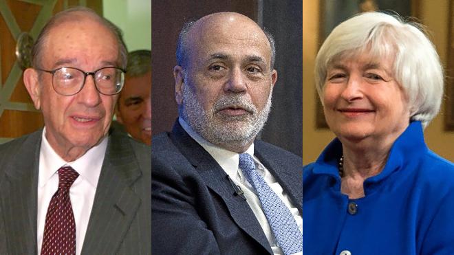 Volcker, Greenspan, Bernanke y Yellen defienden la independencia ...