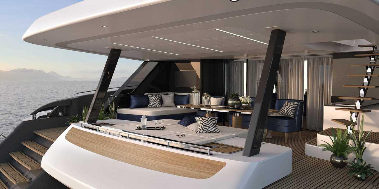 El 80 Sunreef Power es una embarcación multicasco de 24 metros de...