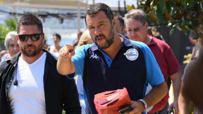 Salvini presiona para votar mañana la moción de censura
