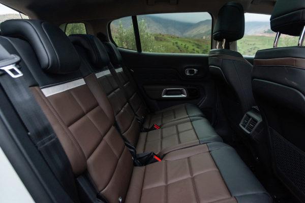 Al volante del Citroën C5 Aircross BlueHDi 130: comodidad en largos viajes