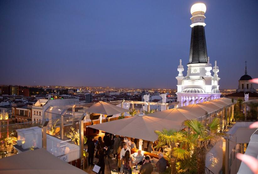 Radio Me Madrid Rooftop Bar Del Hotel Me Reina Victoria