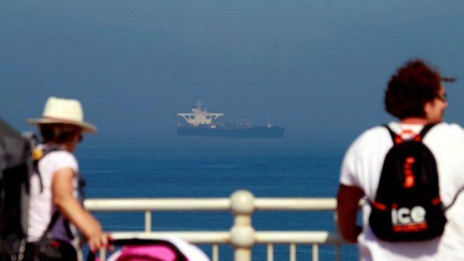 Gibraltar rechaza solicitud de Estados Unidos para retener al buque petrolero iraní